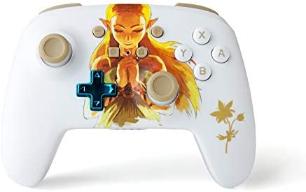 PowerA Enhanced Wireless Controller for Nintendo Switch - Princess Zelda - Nintendo Switch: Amazon.es: Videojuegos