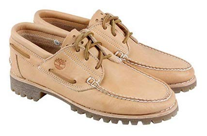 (Timberland Men's Icon Three-Eye Classic Oxford Loafer Shoe (8.5 D(M) US, Natural Horween Ltd))