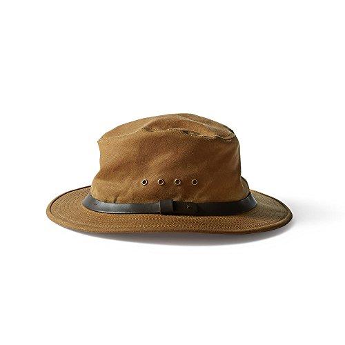 Filson Unisex Tin Packer Hat Tan LG ()