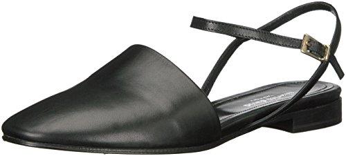 CHARLES DAVID Women's Mellow Flat Sandal Black 9 M US