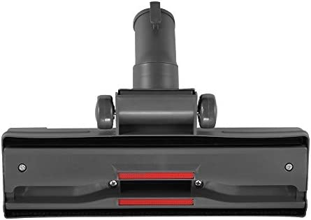 ZXX 32mm/1.25'' Vacuum Cleaner Head Replacement, Carpet Wood Hard Floor Swivel Brush Nozzle Attachment, Pet Hair Mites Removal Tool - Black