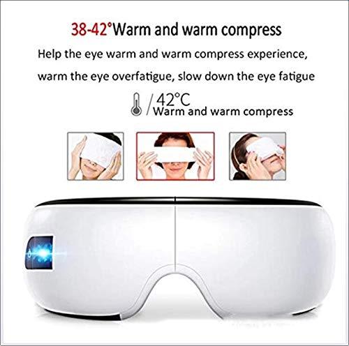 電気アイマッサージスマートワイヤレス Bluetooth 音楽アイマッサージアイケア目乳母ホット目保護器具アイマッサージ B07PM36S46