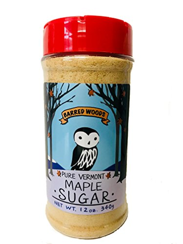 Pure Vermont Maple Sugar - 12 oz Jar - Barred Woods Maple