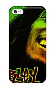 Cute Tpu Running Boy Bob Marley Case Cover For Iphone 5/5s by Maris's Diary