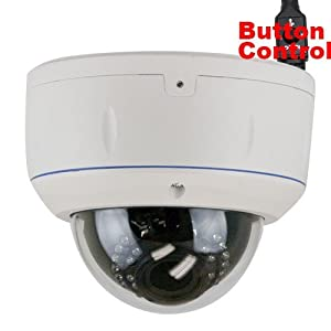 GW Security Outdoor/Indoor 1000TVL Security CCTV Dome Camera System from GW Security