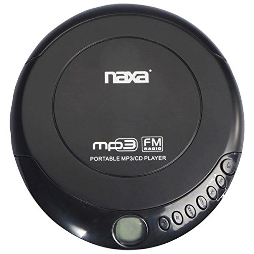Naxa NPC-320 Slim Personal Anti-Shock CD Player-FM Radio