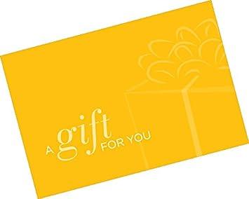 Amazon.com: Tarjeta de regalo presentador (un regalo para ...