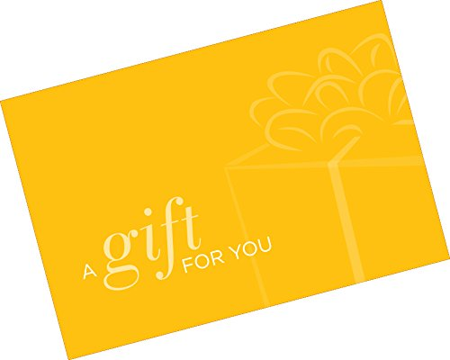 Gift Card Presenter (A Gift for You - Simple Yellow) 500 Pack