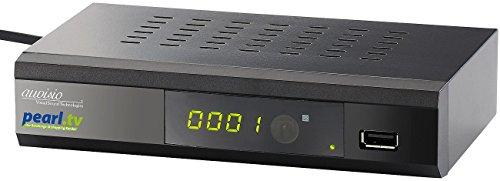 auvisio Digitaler pearl.tv DVB-C2-Kabelreceiver DCR-100.fhd, Full HD