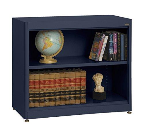 Shelf Radius Edge Bookcase - Sandusky Lee BA1R361830-A6 Elite Series Radius Edge Welded Bookcase, 18