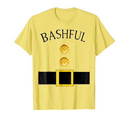 Mens Cute Bashful Halloween Group Costume T Shirt