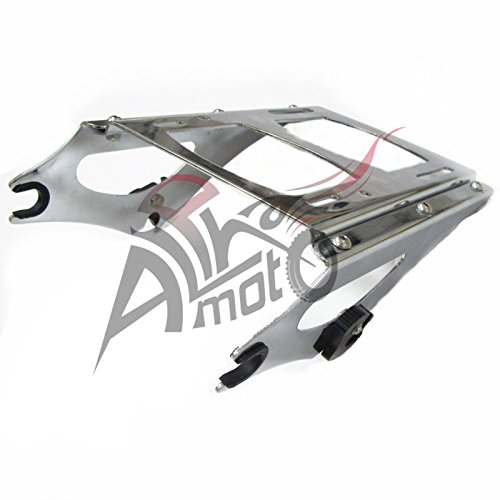 NEW Detachable 2 Up Tour Pak Pack Mounting Luggage Rack Harley Touring FL 2014-2017