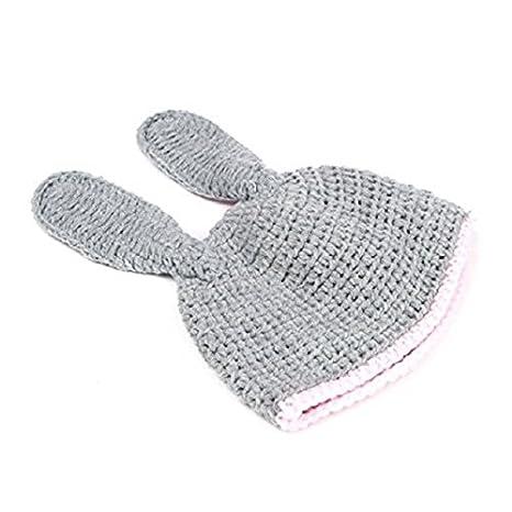 Waymeduo Lindo de la para beb/é Atrezzo fotograf/ía del reci/én nacido hecho a mano de ganchillo Beanie Hat ropa de beb/é escarabajopeque?o