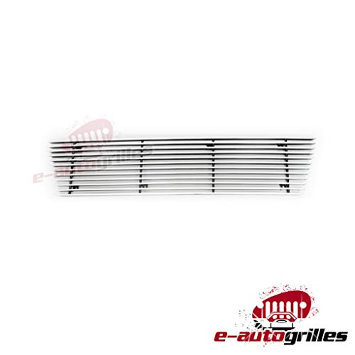 EAG 1PC 4mm Horizontal Overlay Billet Grille Fit for 07-08 Honda Element EX