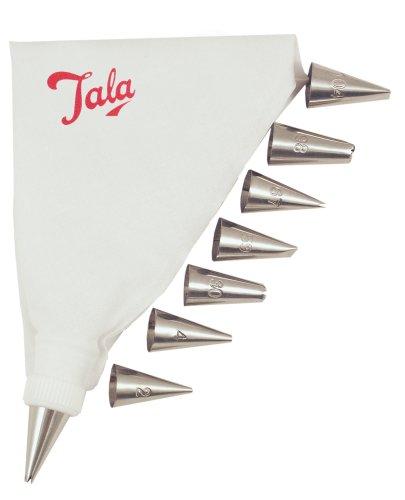 179 opinioni per Tala Set tasca da pasticcere, 8 bocchette 4/48