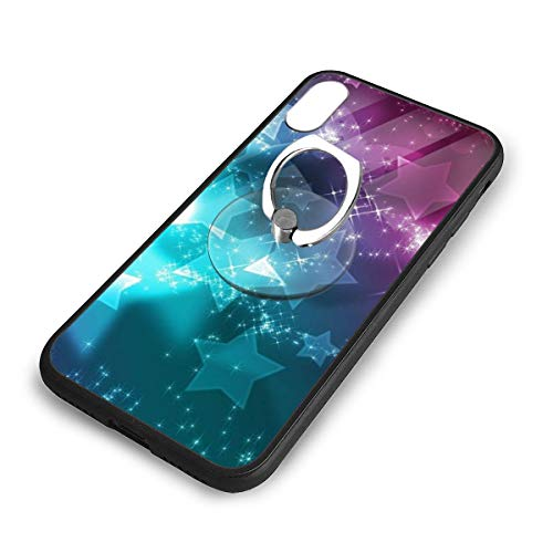 iPhone X Plus Cover Girly-Wallpapers-hd-for-Desktop-Wallpaper Case with Finger Ring Stand XS Phone Kickstand Holder Shock Protective Basic Protector