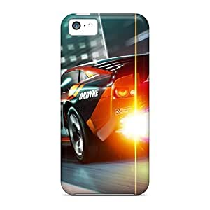 linJUN FENGCbA3886wRKi Tpu Phone Cases With Fashionable Look For ipod touch 5 - Ridge Racer 3d