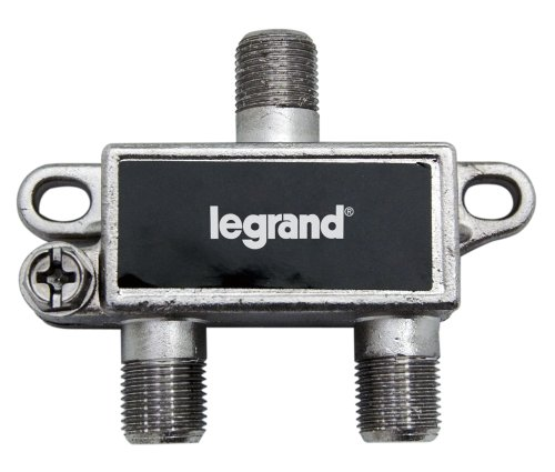 Legrand - On-Q VM2202V1 2Way Digital Cable Splitter with Coax Network Support (Support Voip)