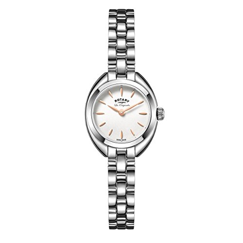 Rotary LB90158-02 Ladies Les Originales Lucerne Silver Tone Steel Watch