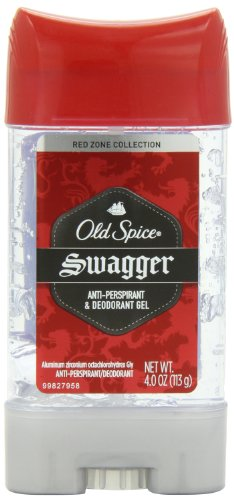 Price comparison product image Old Spice Red Zone Collection Swagger Scent Men's Anti-Perspirant & Deodorant Gel 4 Oz