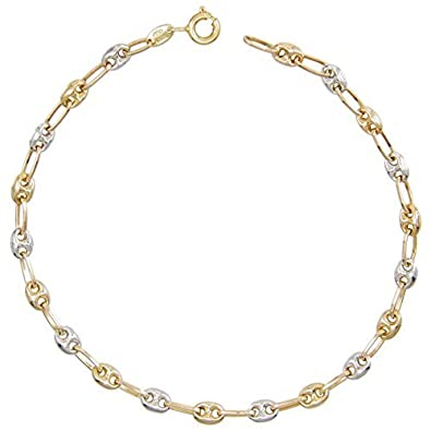 e4c5600fef03 Pulsera de mujer de oro bicolor