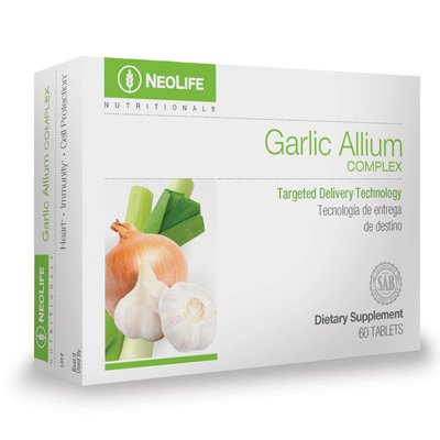 Neolife Garlic Allium Complex – Targeted Delivery Technology, by GNLD