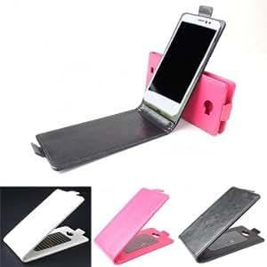 Flip PU Leather Magnetic Protective Case For Cubot GT99 --- Color:Black