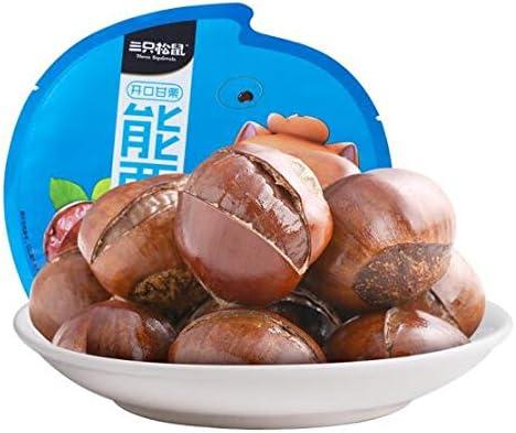 三只松鼠 开口甘栗 中国名物 おつまみ Daben® 大人気 坚果炒货零食特产即食板栗 120g/袋