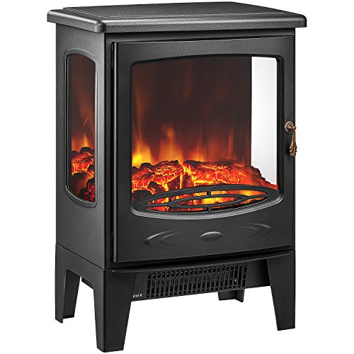 Cheap kealive Electric Fireplace Freestanding Ventless Fireplace Heater with Thermostat 22