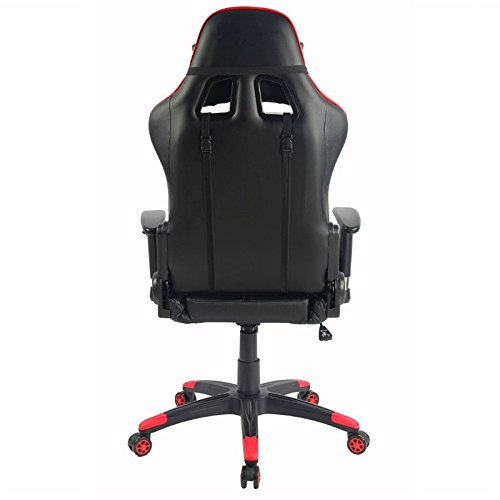 Amazon.com: Scranton & Co Office PC Gaming Chair in Red ...