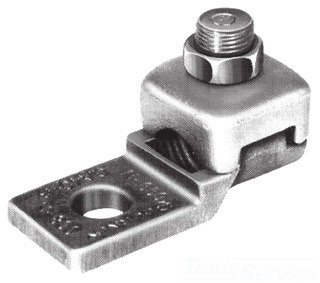 Mechanical Conn, Terminal, 4/0 to 3/0 AWG