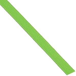Offray Grosgrain Craft  3/8-Inch by 100-Yard Ribbon Spool, Apple Green