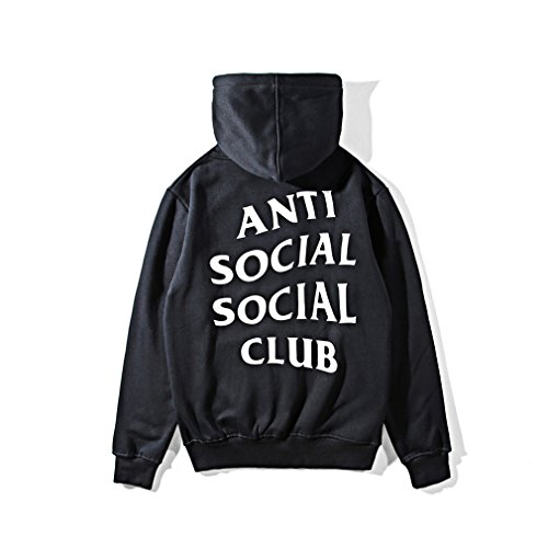 117e091e143d AntiSocialSocialClub Men s Long Sleeve Pullover Hoodie Sweatershirts S-3XL  - Buy Online in Oman.