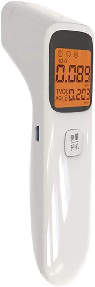 S-TROUBLE Detector de Calidad del Aire Digital 3 en 1 Detector de formaldeh/ído port/átil Monitor Aqi Hcho Tvoc Calibraci/ón Inteligente Analizador de Gas preciso