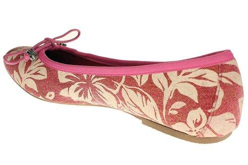 Replay Poke - Damen Ballerinas Espadrilles Schuhe - RB150002T - Pink
