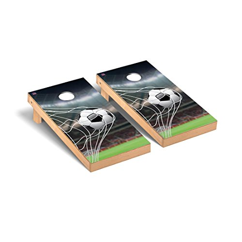 Soccer Goal Cornhole Bag Toss Game Set by Victory Tailgate