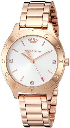 Juicy Couture Women's 'Sierra' Quartz Gold Casual Watch(Model: 1901542)