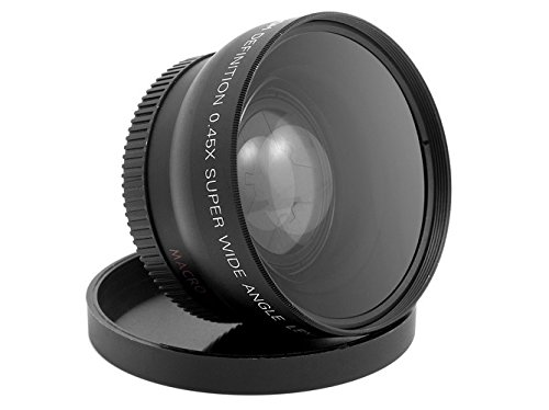 WIDE ANGLE MACRO LENS FOR THE JVC GZ-HD300 GZ-HD320 Everio High Definition Hard Disk Camcorder by SSE