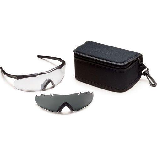 Smith Optics Elite Aegis Arc Compact Eyeshield Field Kit, Black