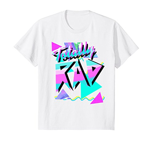 Kids 1980's Tee Shirt Style Totally Rad 80s Casual Hipster v.10 10 - 80s Hipster Style