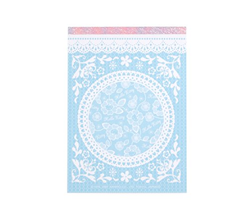 Hello Kitty Memo Pad: Blue Lace