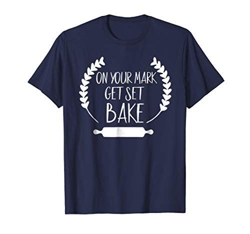 Get set bake t-shirt for the Great British Baking fan