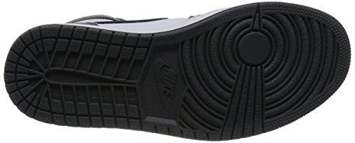 Jordan Nike Herren Air 1 Retro High Basketball Schuh Kühles Grau / Schwarzes Weiß