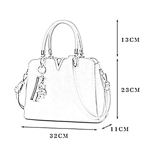 Bandoulière 04 11 Anlei Messenger Femmes La Bag 23cm Main Pu Couleurs Sac Dw 32 2118 Mode 8 À qA1wz
