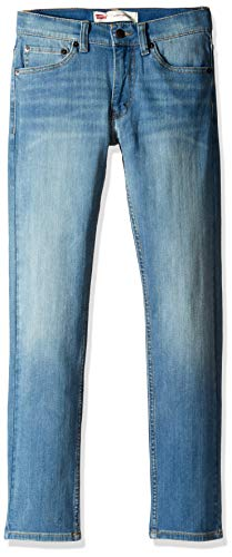 Levi's Boys' Big 510 Skinny Fit Jeans, Morning Side, 12 (Best Skinny Jeans For Size 12)