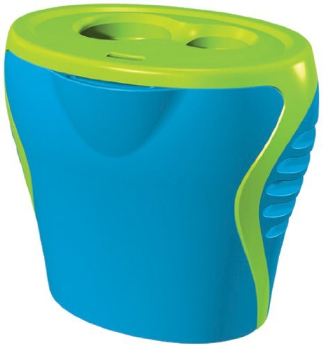 Generic Blue and Green 2 Hole Sharpener by Generic