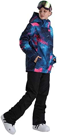 Womens Ski Suit Snow Suit Ski Jackets Snowboard Jacket Ski Coat and Bib Suit
