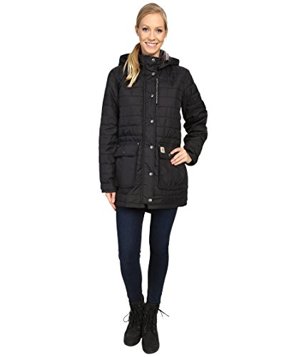 - Carhartt Women's Amoret Quilted Coat, Black, Small