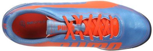 Puma evoSPEED 5.2 TT 102878 Herren Fußballschuhe Blau (sharks blue-fluro peach-fluro yellow 04)