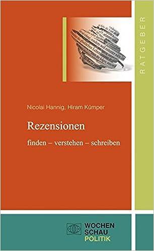 Rezensionen Finden Verstehen Schreiben Ratgeber Nicolai